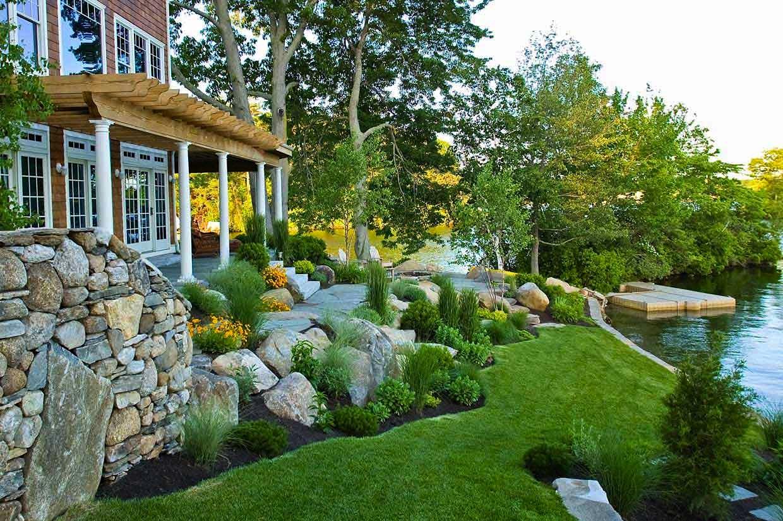 Slideshow Landscape ArchitecturearchitectSallie Hill - Home landscape design